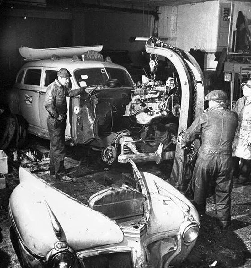 Voiture ancienne old car photos les plus belles de - Garage d entretien automobile ...